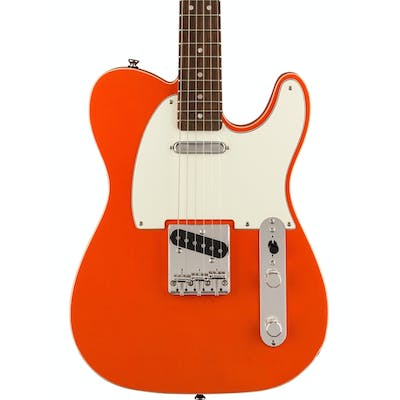 Squier FSR Classic Vibe '60s Custom Double-Bound Telecaster in Candy Tangerine