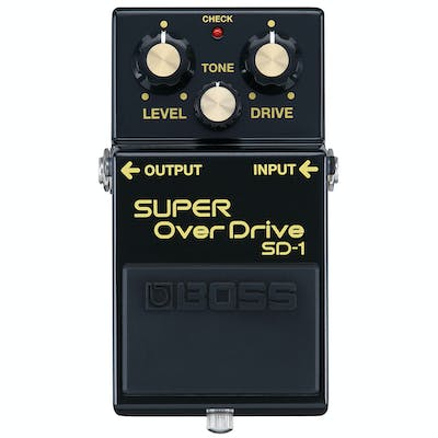 Boss Limited Edition 40th Anniversary SD-1-4A Super Overdrive Pedal