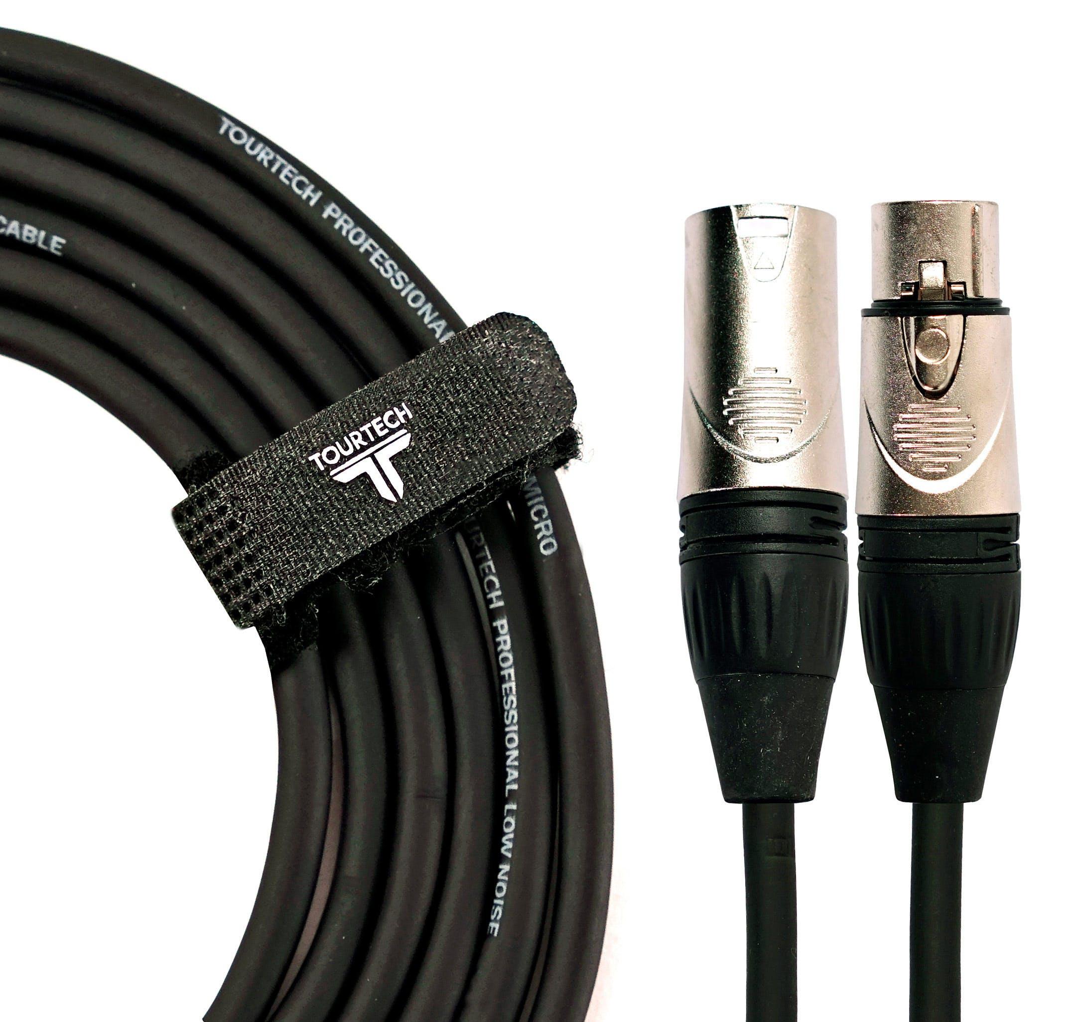 Tourtech 20ft / 6m Microphone Cable XLRfor