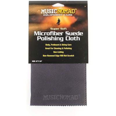 MusicNomad Super Soft Edgeless Microfiber Suede Polishing Cloth