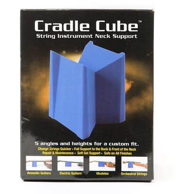 MusicNomad Cradle Cube Neck Support for All Stringed Instruments
