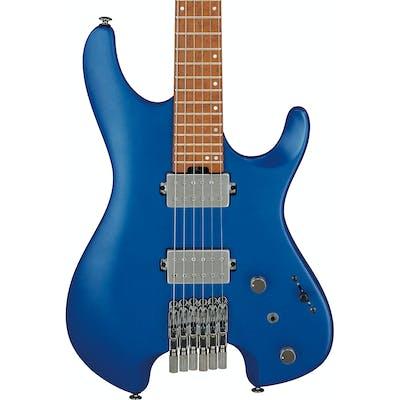 Ibanez Q52-LBM Q Series Headless Electric Guitar HH in Laser Blue Matte