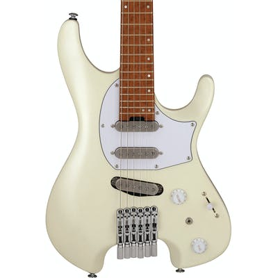 Ibanez ICHI10-VWM Q Series Ichika Nito Signature Headless Electric Guitar in Vintage White Matte