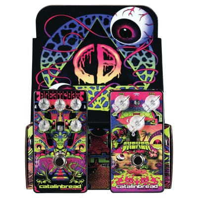 Catalinbread Special Edition Box with 'Dreamcoat' Preamp & 'Skewer' Treble Booster Pedals