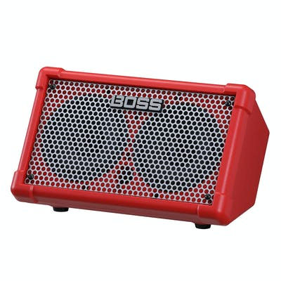 Boss CUBE Street II Battery-Powered Stereo Amp in Red