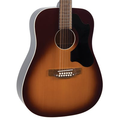 Recording King RDS-9-12-TS Dirty 30s 12-String Dreadnought Acoustic Guitar in Tobacco Sunburst