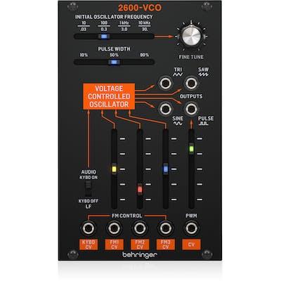 Behringer 2600-VCO Legendary Analog VCO Module for Eurorack