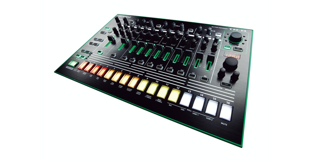 roland aira tr 8 rhythm performer drum sequencer andertons music co. Black Bedroom Furniture Sets. Home Design Ideas