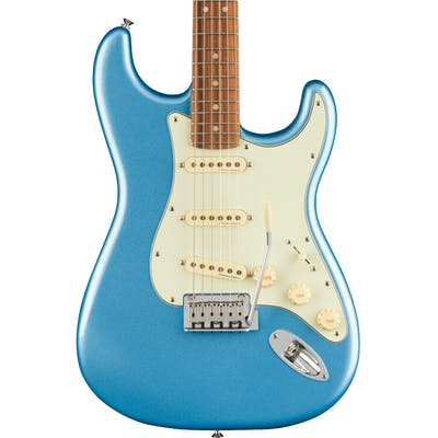 Fender Player Plus Stratocaster Electric Guitar in Opal Spark Blue