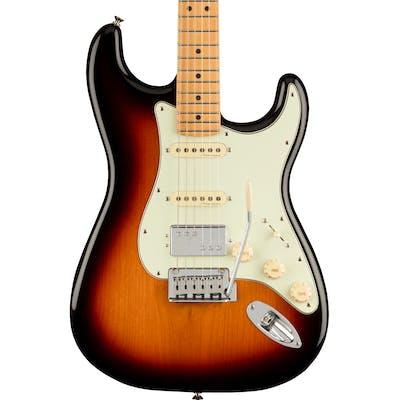 Fender Player Plus Stratocaster HSS Electric Guitar in 3-Colour Sunburst
