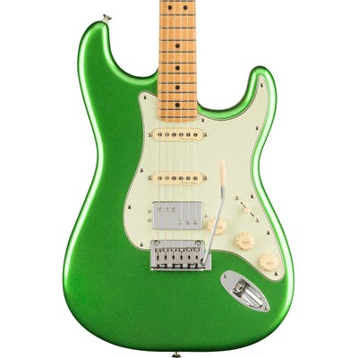 Fender Player Plus Stratocaster HSS Electric Guitar in Cosmic Jade Green