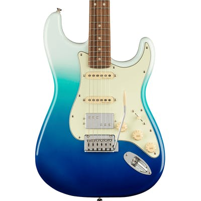 Fender Player Plus Stratocaster HSS Electric Guitar in Belair Blue