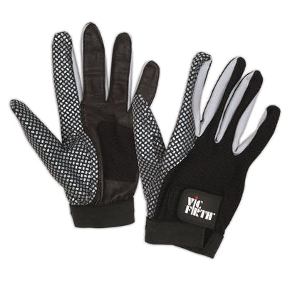 Vic Firth Drumming Glove - Large Enhanced Grip and Ventilated Palm