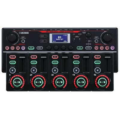 Boss RC-505MKII Flagship Tabletop Looper with 5 tracks & Mic Inputs