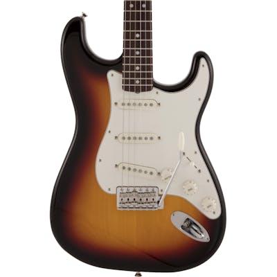 Fender MIJ Traditional Late '60s Stratocaster Electric Guitar in 3-Colour Sunburst