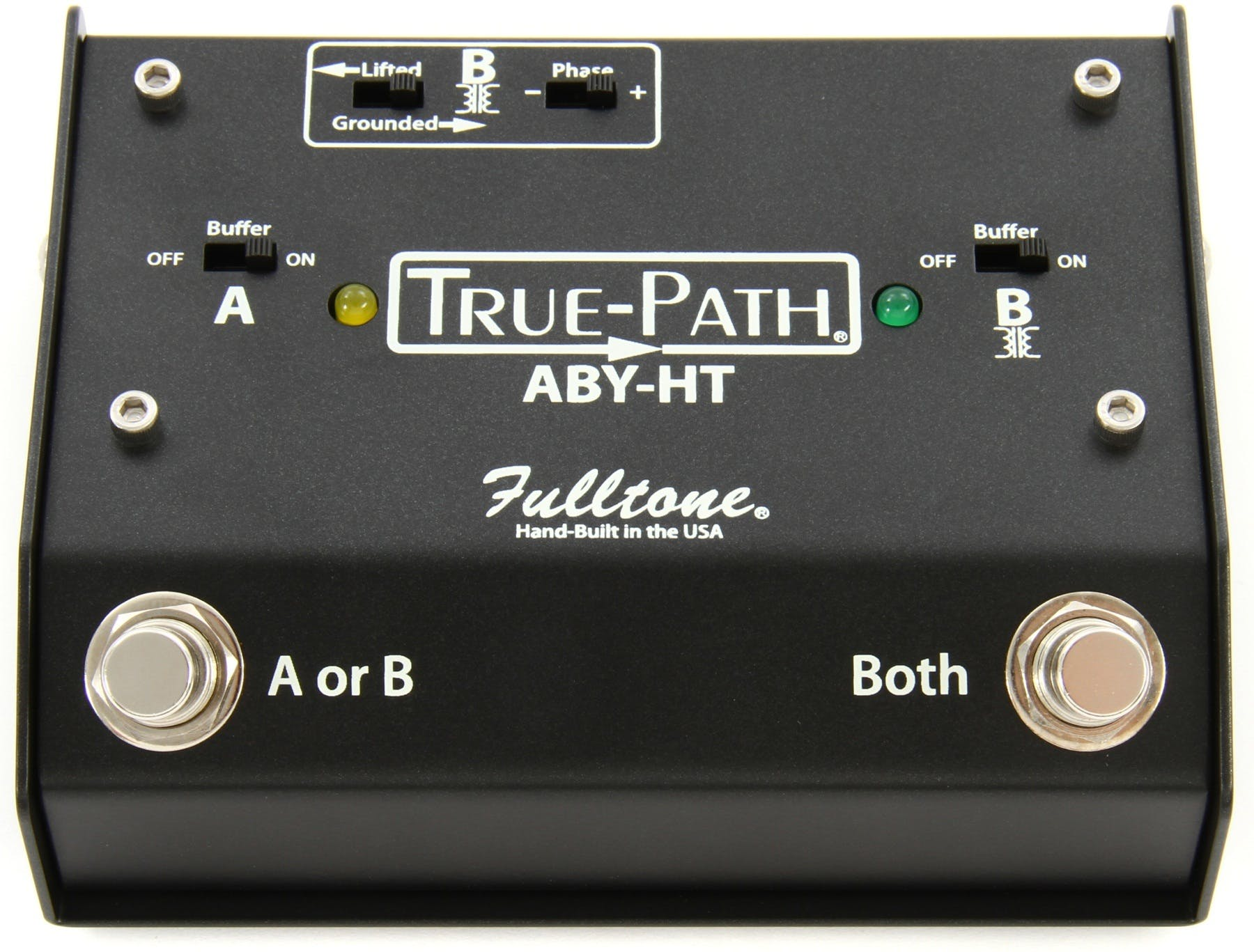 Guitar Aby Pedals Switchers Your Ultimate Guide From Andertons Amplifier Wiring Kit Fulltone Usa True Path Pedal With Hard Touch Switching
