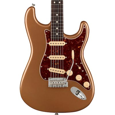 Fender Limited Edition American Professional II Stratocaster in Firemist Gold with Rosewood Neck