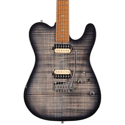 Sire Larry Carlton T7 FM Electric Guitar in Transparent Black