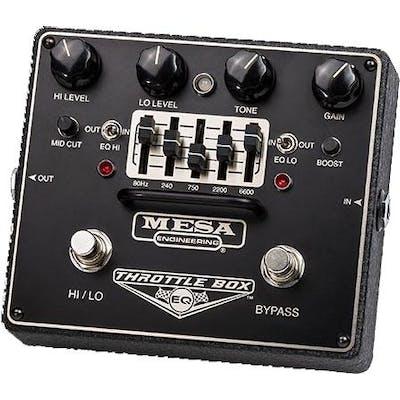 Mesa Boogie Throttle Box EQ Pedal