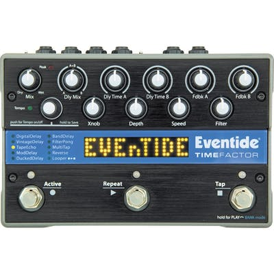 Eventide Time Factor Twin Delay Pedal