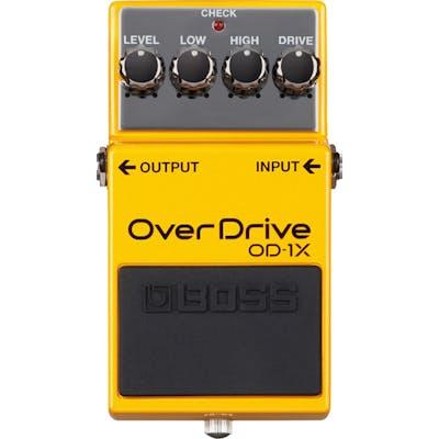 BOSS OD-1X Overdrive Pedal