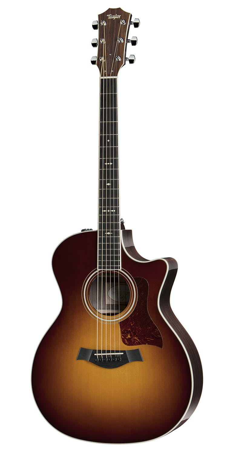 Guitars & Basses Taylor 700 Series 714ce Grand Auditorium Sunburst Acoustic-electric Guitar W/ Ca Customers First Musical Instruments & Gear