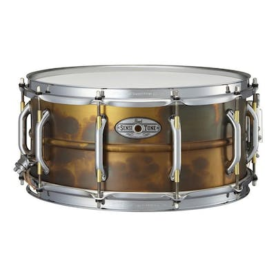 Pearl SensiTone Elite 145 Premium Patina Brass Snare Drum