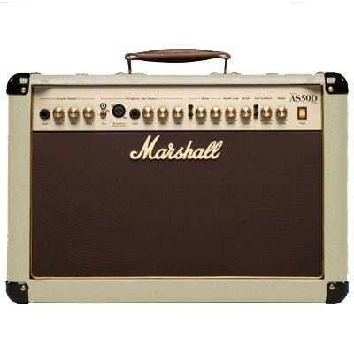 Marshall AS50DC Acoustic Guitar Amp in Cream