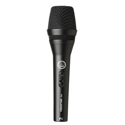 AKG P5S High-Performance Dynamic Lead Vocal Mic with Switch