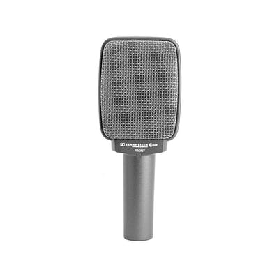 Sennheiser E609 Dynamic Mic in Silver for Guitar Amps & Brass