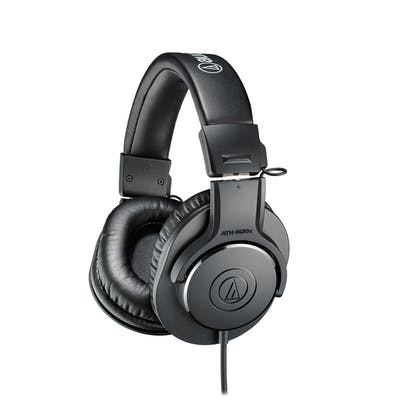 Audio-Technica ATH-M20X Pro Studio Monitor Headphones
