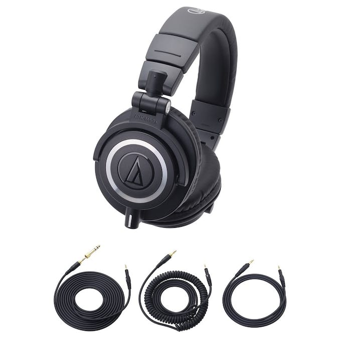 cd670aff7ea Audio-Technica ATH-M50X Studio Monitor Professional Headphones ...