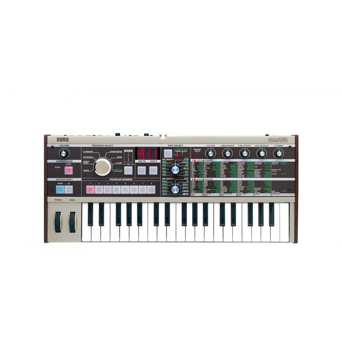 Korg microKORG Synthesizer with Vocoder - Andertons Music Co