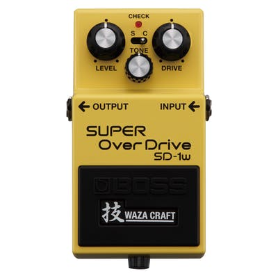 BOSS SD-1w Super Overdrive Guitar Effects Pedal