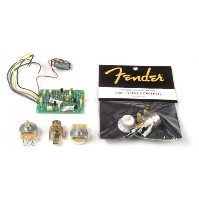 Fender 25db Stratocaster Mid Boost Kit for Eric Clapton Strat - Andertons on