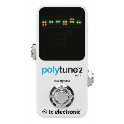 TC Electronic PolyTune 2 Mini in White