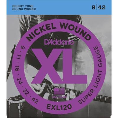 D'Addario XL 9-42 Super Light Set