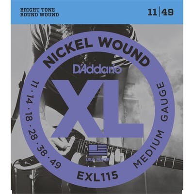 D'Addario XL 11-49 Blues/Jazz Rock Set