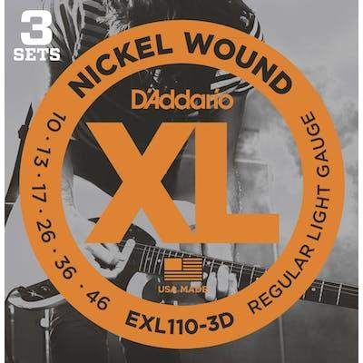 D'Addario XL 10-46 Light Guitar Strings