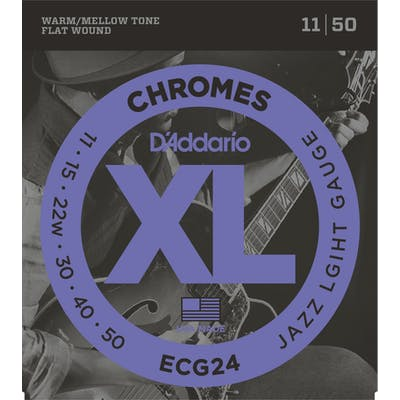 D'Addario Chromes ECG24 11-50 Jazz Light Set