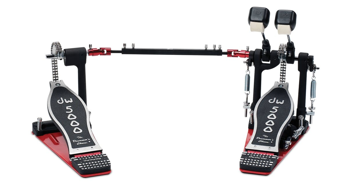dw 5000 series turbo double bass drum pedal andertons music co. Black Bedroom Furniture Sets. Home Design Ideas