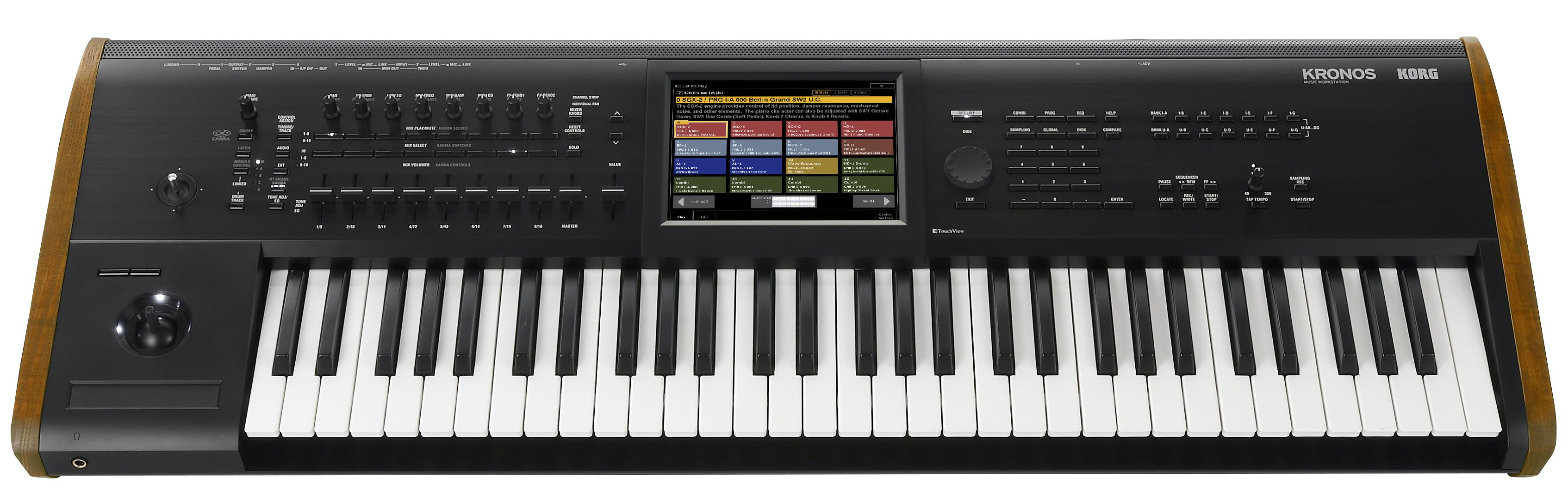 Korg Kronos 2 61 Key Synthesizer & Workstation - Andertons