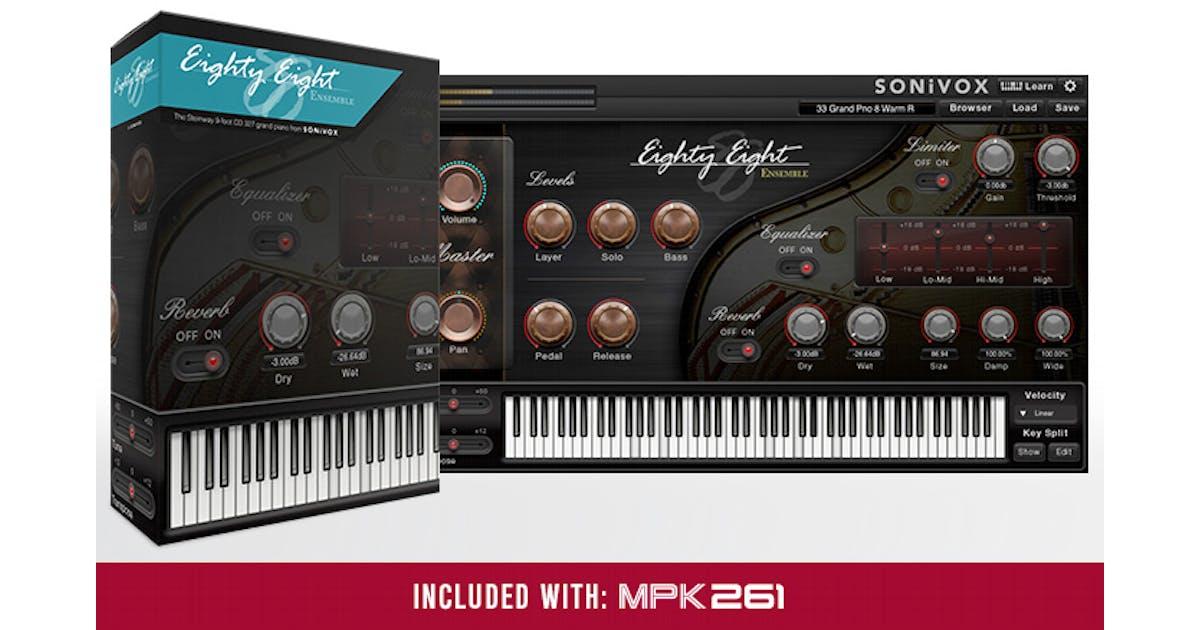 Akai MPK261 61 Key USB/ MIDI Controller with MPC pads - Andertons Music Co