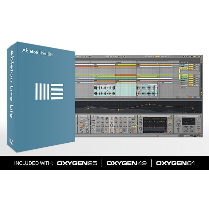 M-Audio Oxygen 25 (4th Generation) - 25 Key MIDI Controller