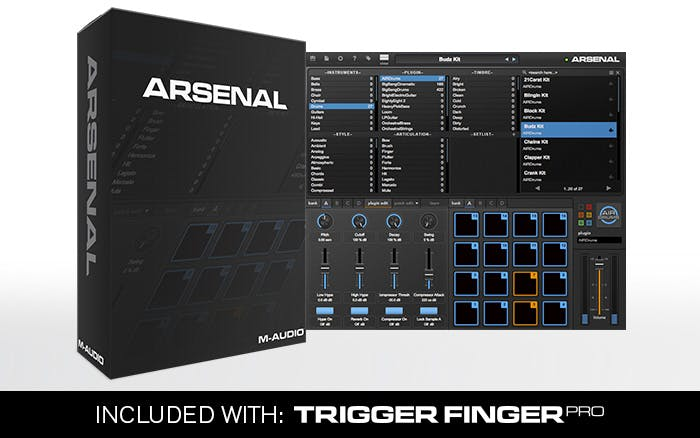 M-Audio Trigger Finger Pro USB Controller - Andertons Music Co