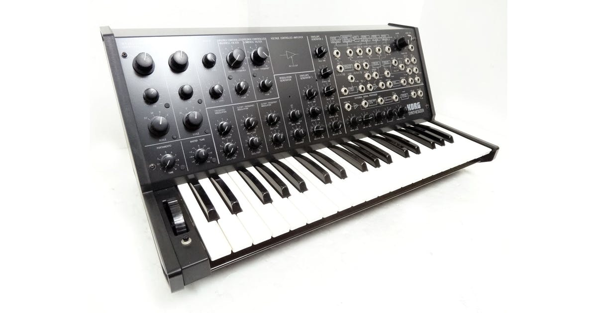 korg ms 20 mini synthesizer andertons music co. Black Bedroom Furniture Sets. Home Design Ideas