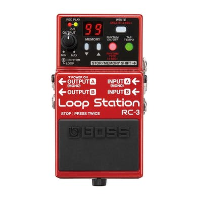 Boss RC-3 Guitar Loop Pedal