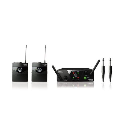 AKG WMS40 Mini2 Instrument Set Dual (Channel 70)