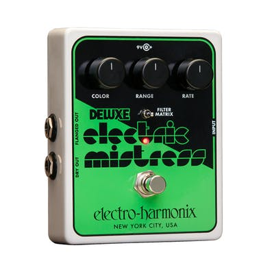 Electro Harmonix Deluxe Electric Mistress XO Flanger Pedal