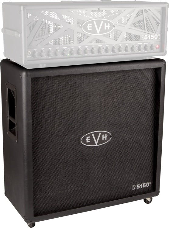 EVH 5150 III 4x12 Cabinet in Stealth Black - Andertons Music Co.
